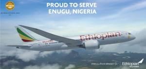 ethiopian airline enugu