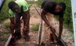 railway vandals in ogun state