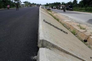 Akwa Ibom Section, near Oron