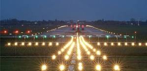 SOLAR POWERED RUNWAY LIGHTS