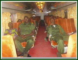 TRAIN ARMY INSIDE