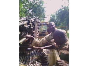 ARMY CAPTURES BOKO HARAM TOYOTA WITH GUNS