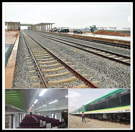 FG to link all state capitals by rail service – Jonathan